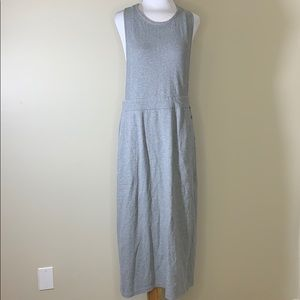 Free People BEACH | Grey Cotton Coverall Dress S